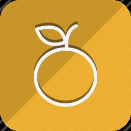 appliance, cooking, food, gastronomy, kitchen, orange, utensils icon