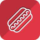 appliance, cooking, food, gastronomy, hotdog, kitchen, utensils icon