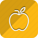 apple, appliance, cooking, food, gastronomy, kitchen, utensils icon