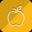 appliance, cooking, food, gastronomy, kitchen, utensils, apple