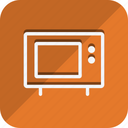 appliance, cooking, food, gastronomy, kitchen, microwave, oven icon