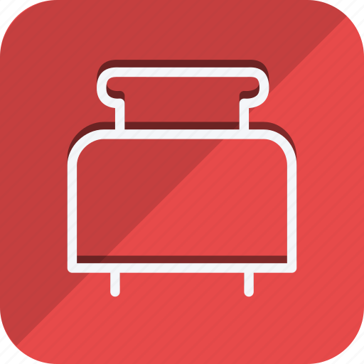 appliance, cooking, drinks, food, gastronomy, kitchen, toaster icon