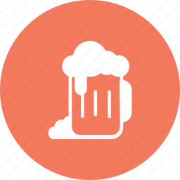 alcohol, beer, cerveza, drink, food, glass, kitchen icon