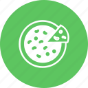 fast, fastfood, food, kitchen, meals, pizza, slice icon
