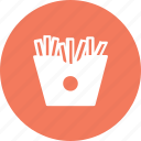 crispy, food, french, fries, kitchen, potato, sncak icon