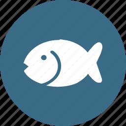 animal, dinner, fish, food, kitchen, restaurant, sea icon