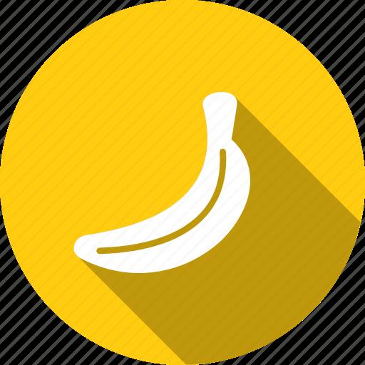 banana, food, fruit, healthy, kitchen, organic, tropical icon