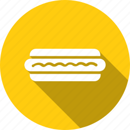 dog, food, hot, hotdog, kitchen, sandwich, sausage icon