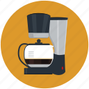 beverage, brewing, caffeine, cappuccino, coffee, cup, machine icon