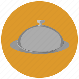 cafe, closed, dinner, dish, plate, restaurant, supper icon