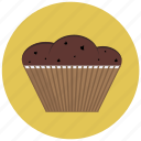 bake, cafe, cake, chocolate, cupcake, delicious icon