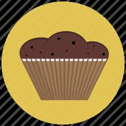 bake, cafe, cake, chocolate, cupcake, delicious icon