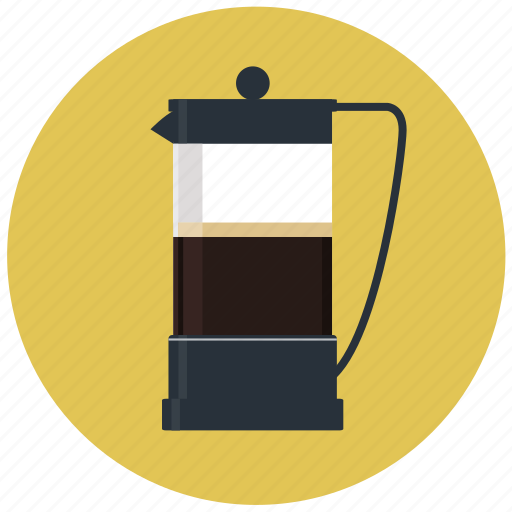 beverage, breakfast, cafe, cafetiere, caffeine, cappuccino, coffee icon