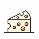 cheese, cheesy, cook, cooking, dairy, dessert, food, kitchen, milk, mouse, mozarela icon