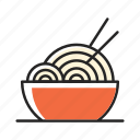 cooking, eating, food, noodle, pasta, ramen, restaurant icon