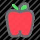 apple, food, fruit, meal
