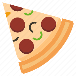 cook, eat, fastfood, food, meal, pizza icon