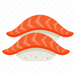 cook, eat, fish, food, meal, sushi icon