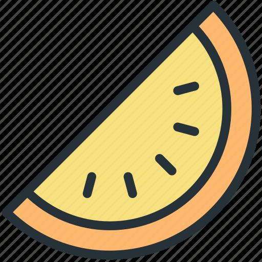 food, slice, watermelon icon