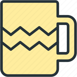 cup, drink, food, glass icon