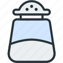 food, kitchen, pepper, sugar icon