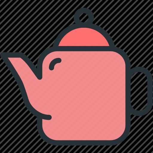 food, kettle, tea icon