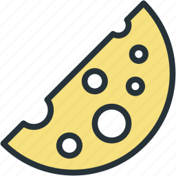 cheese, food icon