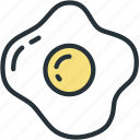 eggs, food, omelette, scrambled icon