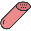 food, sausage icon