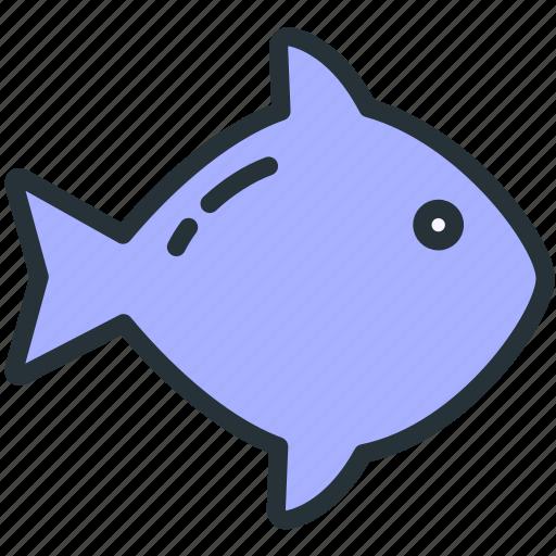 fish, food icon