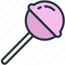 food, lolipop icon