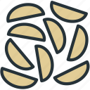 chips, food, potatos, slices icon