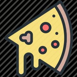 food, pizz, slice icon
