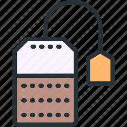 bag, food, tea icon