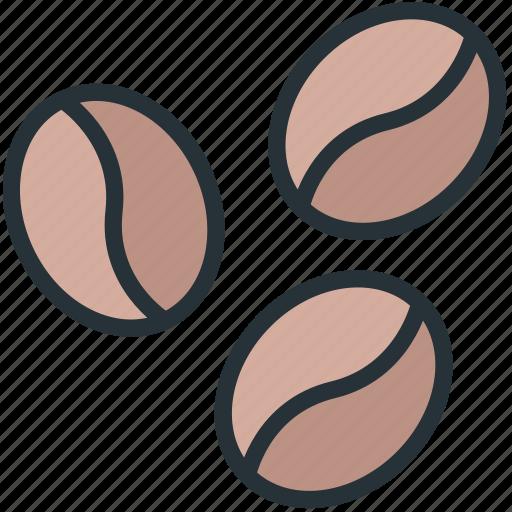 coffee, food, grains icon