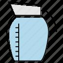 container, crock, food, jar, jug, pitcher, vessel
