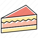 bakery, cake, dessert, food, muffin, pastry, sweet icon