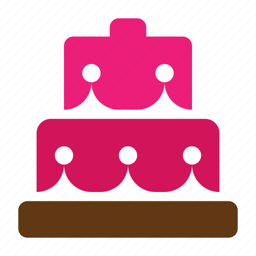 birthday, cake, food, solid, sweet, tart, wedding icon