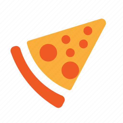 cooking, food, pizza, slice, solid icon