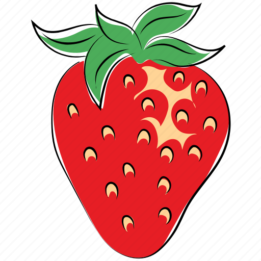 berry, fruit, healthy food, nutrition, strawberry icon