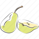 nutrition, organic, pear, fruit, pomaceous, healthy diet