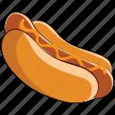 sausage, hotdog sandwich, hot dog, fast food, barbecue, junk food