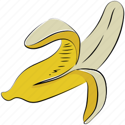banana, food, fruit, healthy diet, nutrition, plantains icon