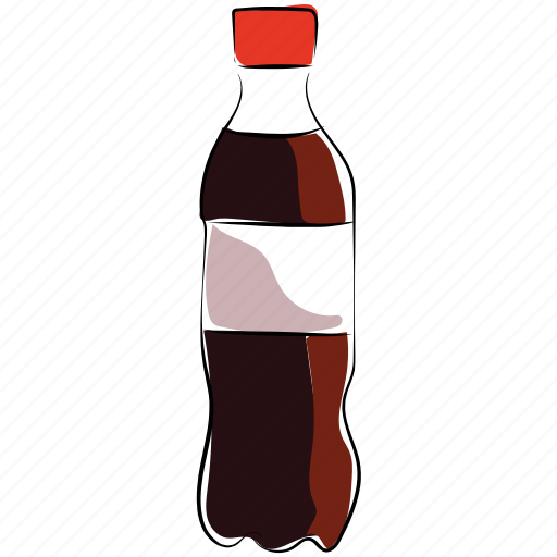 cola, cold drink, drink, drink bottle, soft drink icon