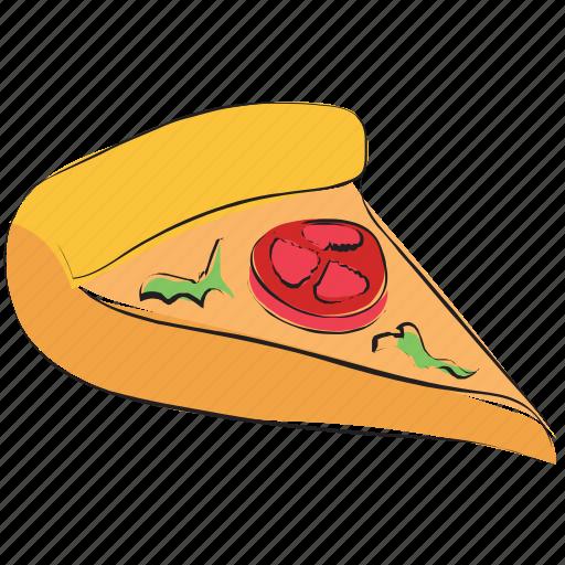 fast food, italian food, junk food, pizza, pizza slice icon