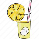 appetizer drink, cold drink, drink, lemonade, soft drink icon