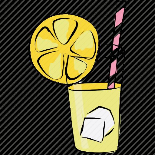appetizer drink, cold drink, drink, lemonade, soft drink icon