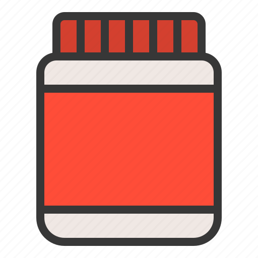 bottle container food food package icon