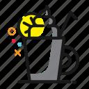 cup, drink, glass, icecream, tea