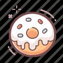 dessert, donut icon